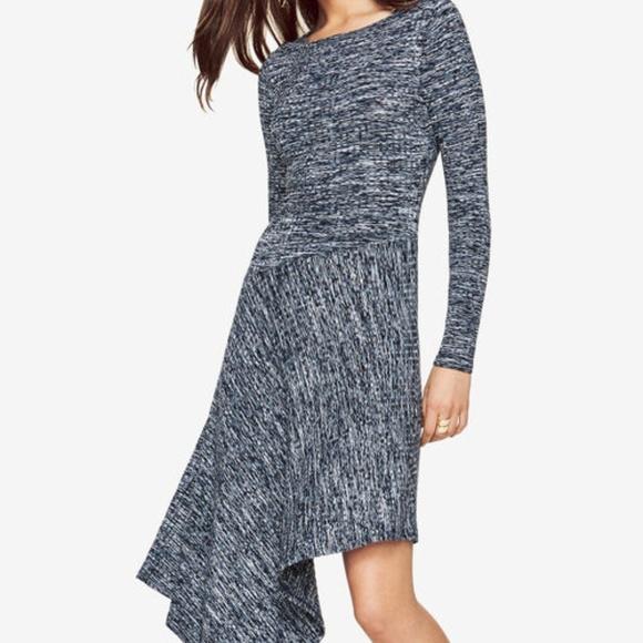 BCBGMaxAzria Dresses & Skirts - High Low Dress BCBG Blue  - Good as New